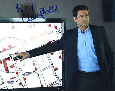 """(SSG) BILLY CAMPBELL Signed 10X8 Color """"The Killing"""" Photo with a PSA/DNA COA"""