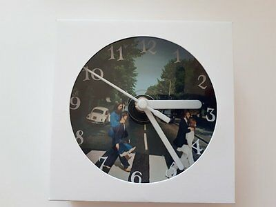 The Beatles CD Clock with FREE Personalisation & Gift Box. Design 1