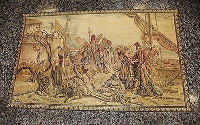 Espectacular tapiz del siglo XIX / Spectacular tapestry of the 19th century