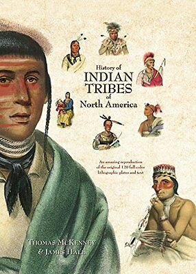 History Of Indian Tribes Of North American - 3 Vol Set McKenney & Hall NEW BOOKS