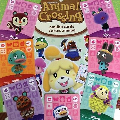 US Edition - Amiibo Animal Crossing Cards 001-100 - Pick Your Own - Nintendo