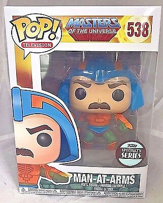 MAN-AT-ARMS 538 Funko SPECIALTY SERIES POP! vinyl figure New In Package RARE