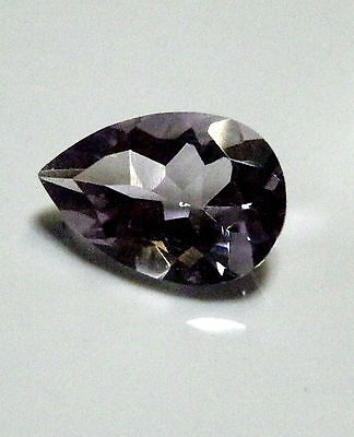 Purple amethyst natural pear shaped gemstone..2.79 Carat.