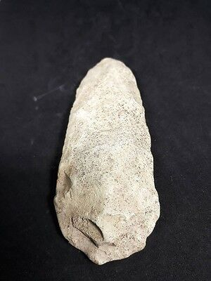 Neolithic Ancient Stone Axe Flint Stone Age Artifact Tool #125
