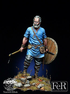 1:32 resin soldiers viking invaders are not painted  g54