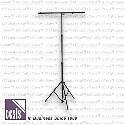 BravoPro LS014 3-Section Folding Lighting Stand with T-Bar