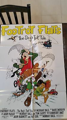 FOOTROT FLATS Original One Sheet Movie Poster
