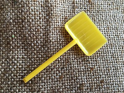 Vintage Replacement Yellow Shovel, Rosbro Snowman,Easter Rabbit Candy Container