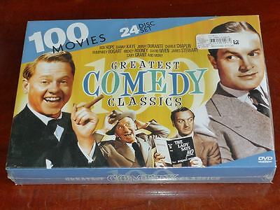 100 Greatest Comedy Classics - Comedy Kings + Hollywood Comedy 24DVD Box Set
