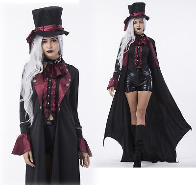 Womens Deluxe Ripper Gothic Steampunk Vampire Halloween Costume