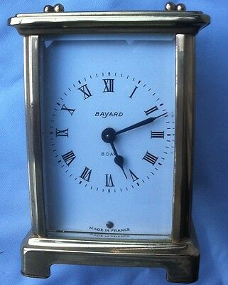 Old French Carriage Clock by Duverdrey & Bloquel for restoration