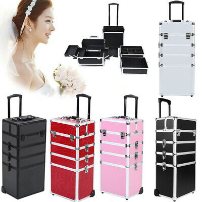 5 Colors Select Makeup Beauty Cosmetic Hairdressing Nail 5 In 1 Case Box Trolley