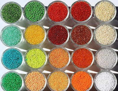 Czech Glass Seed Beads 10/0 10g. Rocaille,Preciosa,each additional item is Free