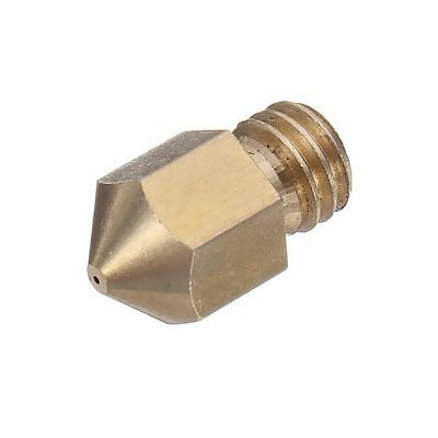5Pcs 04Mm 3D Printer Extruder Brass Nozzle
