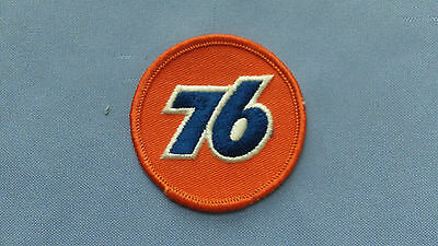 Union 76 Circa 1970 NASCAR NHRA Embroidered Cloth Patch Unocal 76 Phillips 66