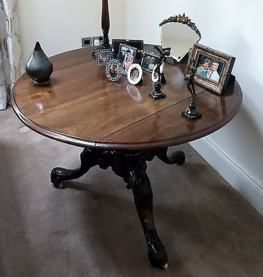 A Victorian Mahogany Occasional Tripod Table