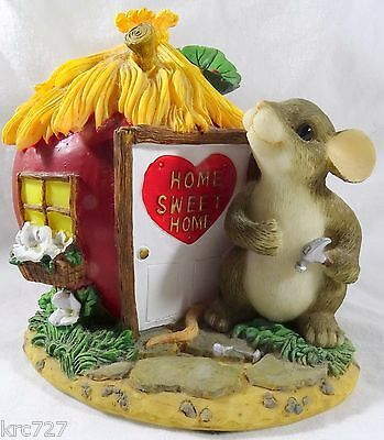 Charming Tails Figurine Home is Where the Heart is
