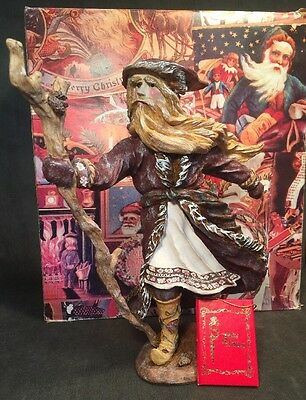 Beautiful Duncan Royale Santa Claus Dedt Moroz Father Ice Box Red Book