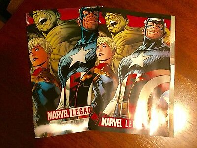 Marvel Legacy (2017) #1 Regular Cover A & Lenticular Cover Set [NM]