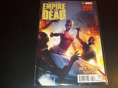 George Romero's Empire of the Dead Act 3 #4 1st print Night Dawn Dead Walking