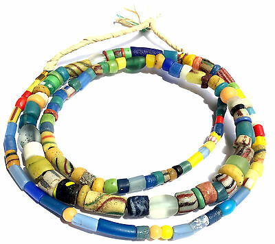 old Ghana Antique African Beads Glass African Trade Beads
