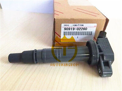 1x Ignition Coil 90919-02260 90919-A2006 For Toyota Tacoma Matrix Tundra 4Runner