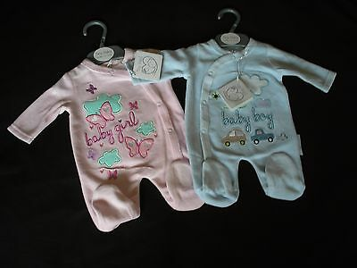 Premature Preemie Baby Clothes Tiny sleepsuit all in one Boy Girl 3-5lbs 5-8lbs