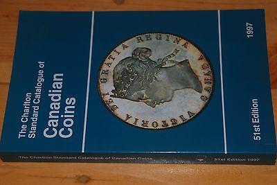 Weeda Charlton Canadian Coins catalogue, 1997 51st edition, VF used condition