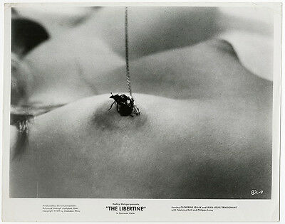 Vintage 1968 Risqué Italian Sexploitation Film The Libertine Racy Photograph