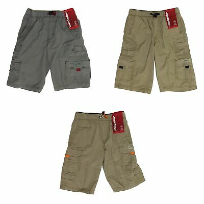 UNIONBAY Lightweight Messenger Pull-On Cargo Shorts for Boys - Elastic Waistband