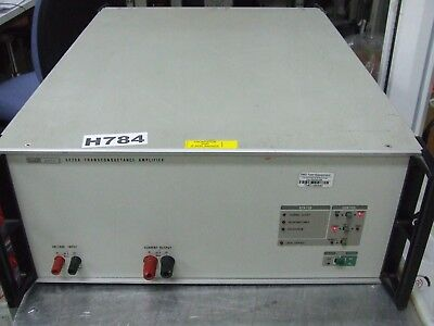 Fluke 5220A Transconductance Amplifier * Tested & Working *