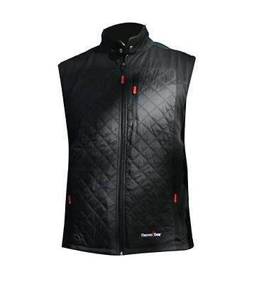 Thermal Vest XL With Micro Thin Stretchable Carbon Fibers Distributes Heat