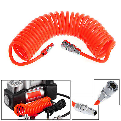 Flexible PU Recoil Hose Tube For Compressor Air Tool FK 6M 19.7Ft 8mm x 5mm POP