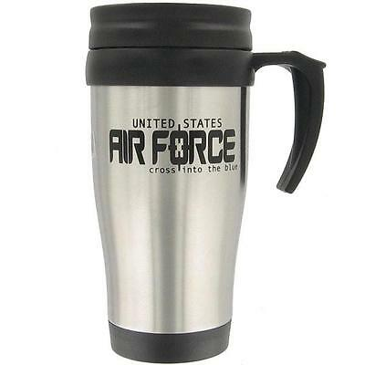 Brand New Air Force Stainless Steel Mug Air Force Logo