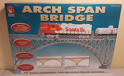 HO Arch Span Single Track Bridge Kit