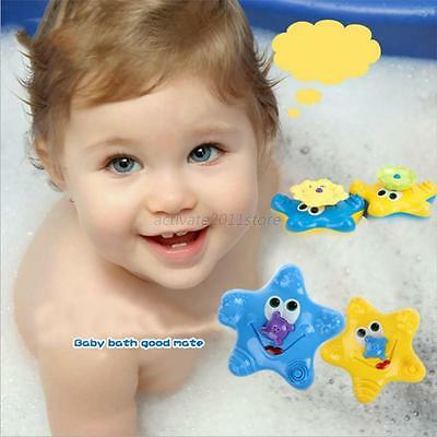 Kid Babys Water Spray Starfish Wash Swimming Bath Toy Cute Animal Bathing Toy