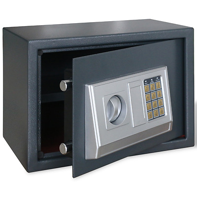 Extra Large 30L High Security Electronic Digital Safes Steel Ket Home Safe Box A