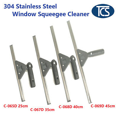 Commercial Squeegee Window Glass Swivel Handle Blade Wiper Cleaner Cleaning Tool