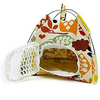 Folding Small Pet Outdoor Tent  Tentage House Bed for Dwarf Hamster Rat Hedgehog