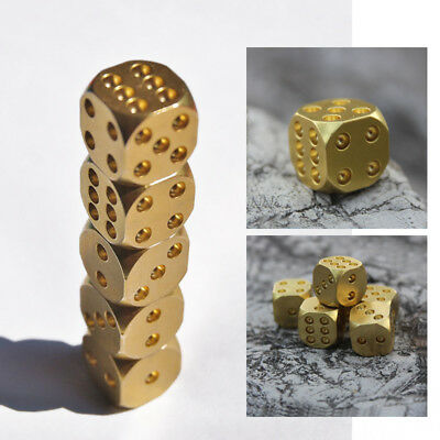 Gold Copper Bar Supplies Massive Creative Supplies Mahjong Nuts Poker Brass Dice