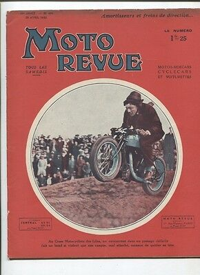 Moto Revue N°476  ;  23  avril 1932 :  Puch 500 cmc 4 cylindres