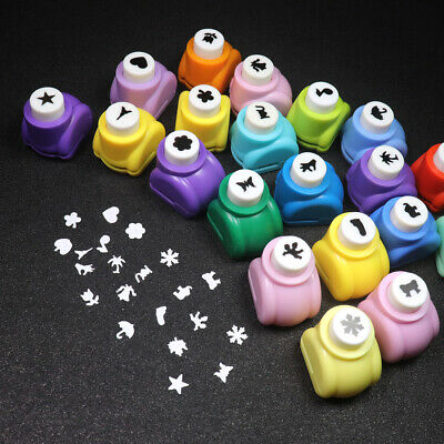 20x Birthday Festival Card Gift Making Scrapbook Paper Hole Puncher Shape Cutter