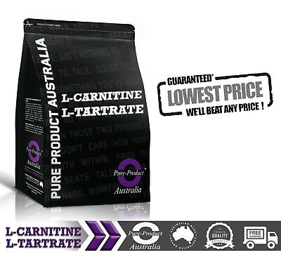 1KG PURE L-CARNITINE L-TARTRATE LCLT POWDER Premium Quality