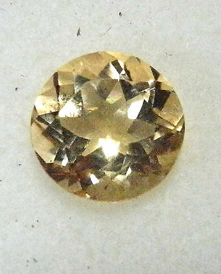 Yellow Citrine natural gemstone..2.64 Carat..9 mm x 5.8 mm gem