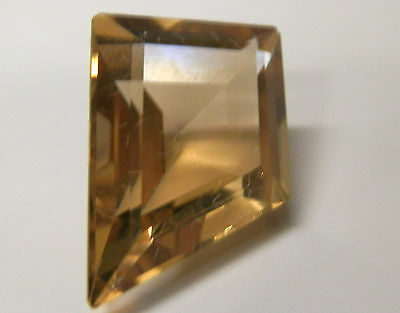 Large natural citrine  freeform gemstone..8.1 Carat