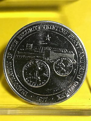 Philippines 1977 50-Piso Bank Security Plant & Mint Complex Commemorative Silver