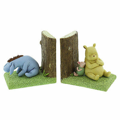 DAMAGED - Disney Winnie The Pooh Classic Collection Bookends Book Ends