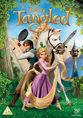 Tangled DVD (2011) Nathan Greno cert PG Highly Rated eBay Seller Great Prices