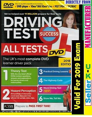 2019 Driving Test Success All Tests DVD Edition atdv