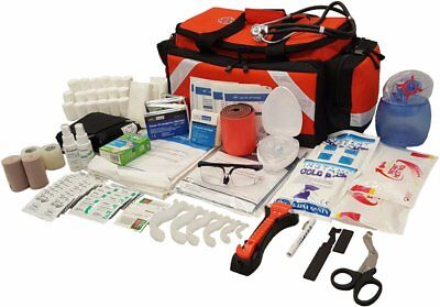 LINE2design Trauma Kit First Aid Fully Stocked EMS Medical Supply Responder Bag
